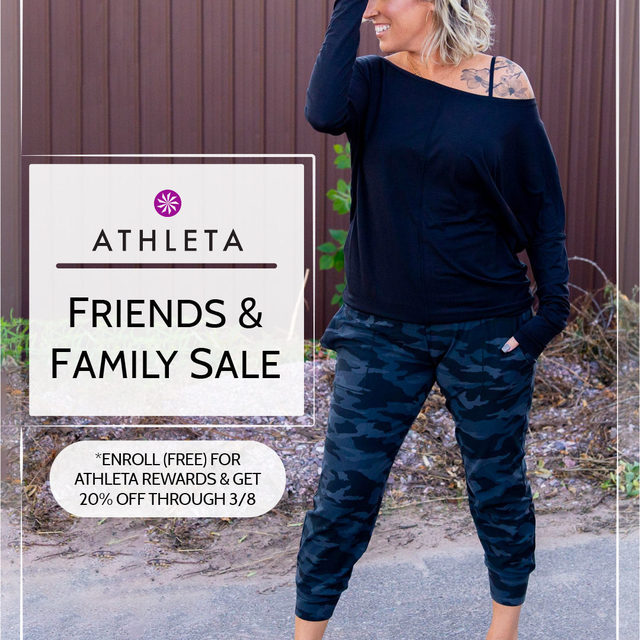 Catch the sale while you can. Scoop up our editors' fav pieces from @Athleta during their Friends + Family Sale. Just enroll in Athleta Rewards (free) and you'll get 20% off now through 3/8. Click the link in our bio to get Scotti's look and to shop all of our favs. . . . . . #Athleta #fashion #fashionblogger #athflow #instafashion #sale #outfitdetails #ootd #clothing #discount #everydaystyle #dailyoutfit #fashioninspo #fashionlove #ootdinspiration #ootdinspo #ootddetails #ootdwomen #cantwaittowear #whatiamwearing #stylegoals #fashionlooks #fashionedit #styleblogging #fashiondetails #fashionaddict #stylehunters #themomedit #TMEfashion