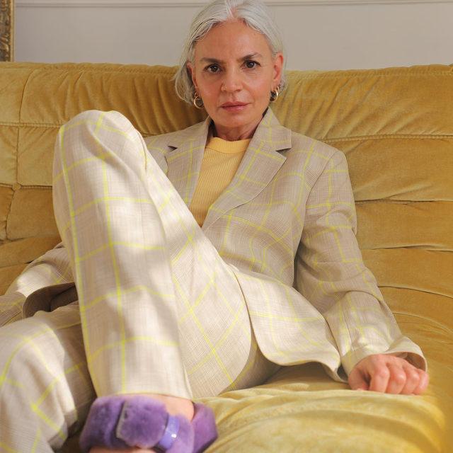 @greceghanem at home in new season suiting 💜💜  #BaumFamily #BaumundPferdgarten