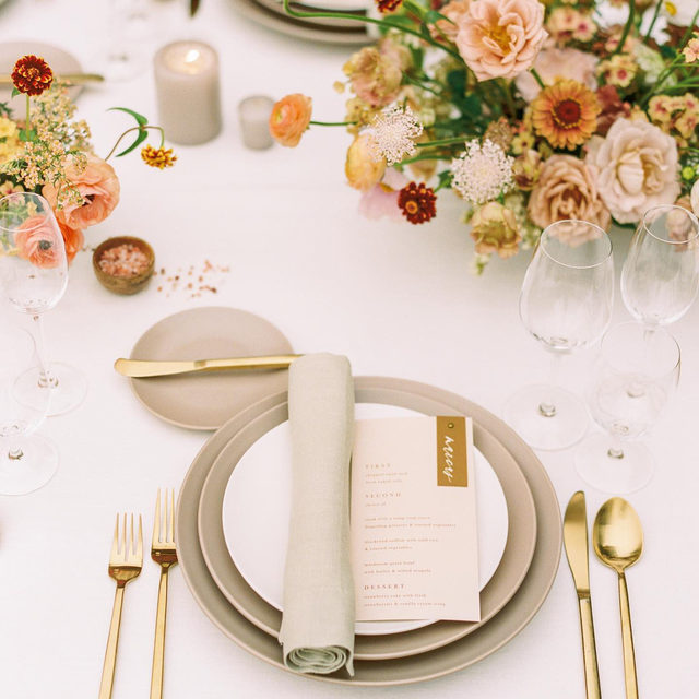 Stunning styled shoot from @barielexaevents and @glamgarden with our #tuscanylinen in White with Limestone napkins 🤍🍂🩰🏵 Can't get enough of this! These colors are beautiful 💕Photography @oliviamarshallphoto  #latavolalinen #transformyourtable #bbjlt #bettertogetherbbjlt #linen #nautrallinen #linenlife #linentablecloth #californiabride #californiawedding #softcolors #weddingdetails