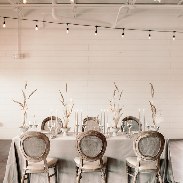 Minimalist, but make it chic! 🤍 This monochromatic beauty is where traditional meets trend-setter. The perfect design inspiration for anyone trying to achieve that sleek boho look. Featuring our Dove Velvet Table Linen. Visit the link in our bio to view more of this gorgeous linen.  _________ Credits:  Planner: @designthedayevents Photographer: @emilyvandeheyphotography Floral: @isibealstudio Rentals: @aclassicpartyrental @wowfactorsindy Paper Goods: @relicsofmona Venue: @bash.828 Host: @theshootoutsociety