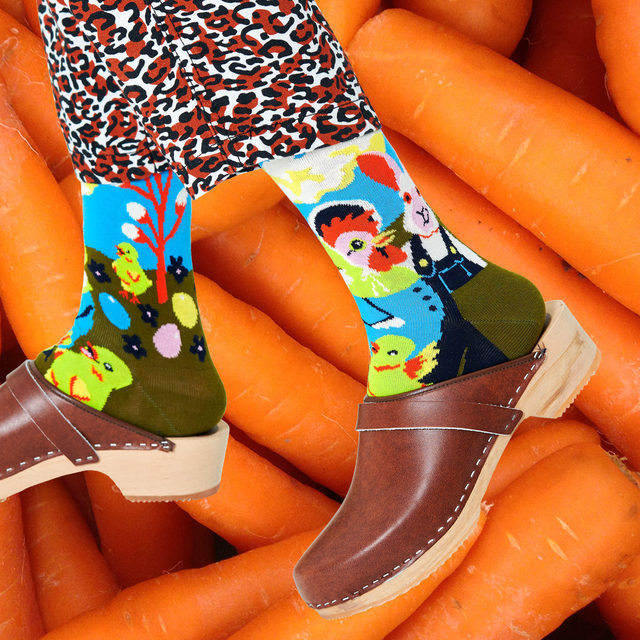 The hunt is over! 🐰🥕  Put all of your Easter eggs in one shopping basket this year through the link in bio 🔗 or 👉  HappySocks.com  #HappinessEverywhere #HappySocks