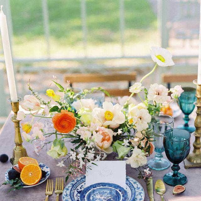 Lovely colors atop our #velvetlinen in Rose Quartz from @middletoneventsco and @theheirloomtable 💕Sliced fruit and that one wild and wandering white poppy?? Yes please! 🍊 Photography @mintphotographytx   #latavolalinen #transformyourtable #bbjlt #bettertogetherbbjlt #velvet #velvettablecloth #velvetwedding #springwedding #springflowers #styledshoot #atxwedding #atxweddings #atxbride #bridesofaustin