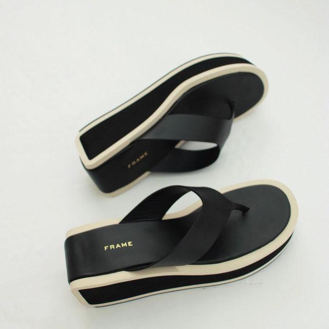 Now Online: Le Ocean is the retro platform sandal making waves.