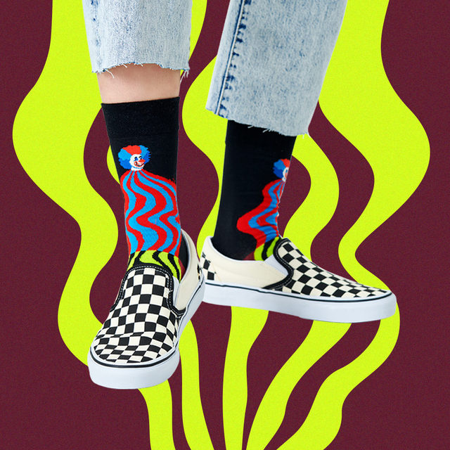 Swirls are to 2021 what swag was for 2014. 😎〰  #HappinessEverywhere #HappySocks #CaughtInTheAct