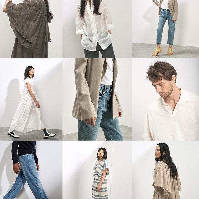New drop - Our latest womenswear and menswear is now online. Cotton shirting and cheesecloth dresses. Knitted polo shirts and faded denim.