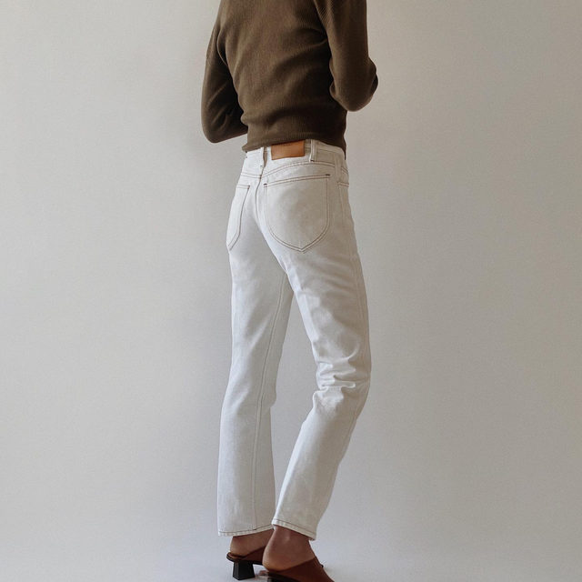 How to refresh your wardrobe with white denim - just watch @modedamour