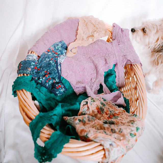 The best laundry baskets are full of #hankypanky (don't forget to hand wash to extend the life of your garments!)  (cc: @chlobellexx)