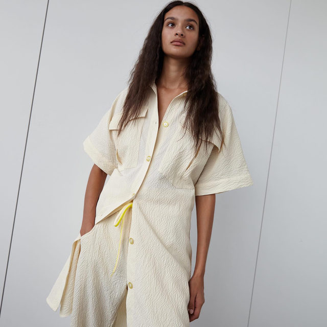Walk the walk: invest in beautiful styles that are considerate of both our planet and its people ♻️  50%* of our Spring Summer 2021 collection is made from more responsible materials like organic cotton, sustainably sourced viscose, recycled polyester, and recycled nylon  *We're working to increase this number with each collection  #EarthMonth #BaumFamily #BaumundPferdgarten