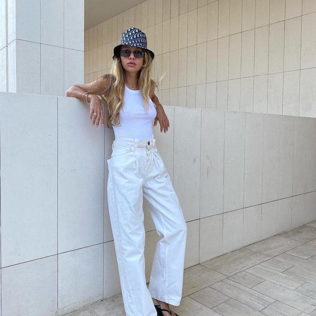 ❕🤍 @zaboshta wears our Fold jeans #regram