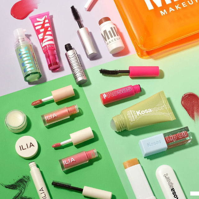 Whether you're starting your clean-makeup journey, jump-starting your friend's, or just looking to expand your collection, these #CleanAtSephora sets from @milkmakeup, @kosas, and @iliabeauty have the variety and price point you're looking for 💚 ✨ Our Spring Savings Event is on now ✨ Rouge, you get 20% off from 4/9 to 4/19. VIB, you get 15% off from 4/13 to 4/19. Insider, you get 10% off from 4/15 to 4/19. Unlimited use in store, online or buy online, pick up in store with code OMGSPRING! Exclusions apply .   Plus! Now through 4/19 get 30% off all Sephora Collection items. Not combinable with Springs Savings Event Offer. … MILK MAKEUP Glossy Glow Full Fave Set ($35, a $77 value) Kosas Mini Clean Start Set: Full Face Bestseller Edition ($25, a $37 value) ILIA Meet the Minis Clean Face Set ($28, a $48 value)