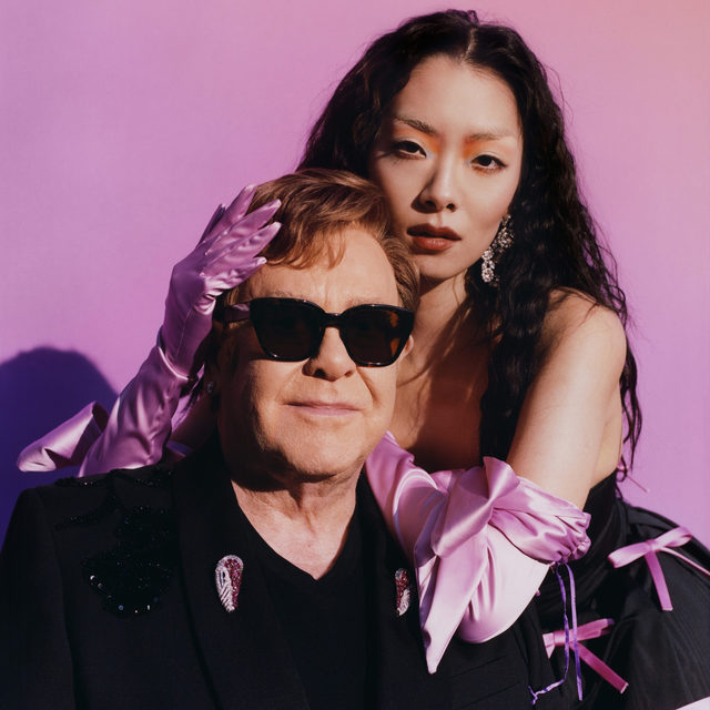 """@rinasonline has released a new version of her song """"Chosen Family,"""" featuring the one and only @eltonjohn. Watch the video at the link in our bio.  📷  by harleyweir  #RinaSawayama #EltonJohn #MusicVideo #Pitchfork"""