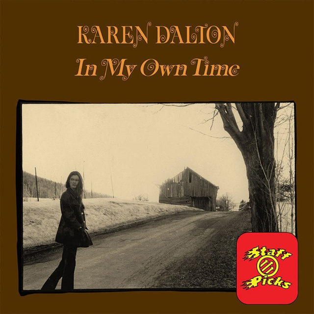 """💥 Staff Picks : Staff writer @QuinnMoreland shared the album she's returning to a lot lately:  I don't need to be in a specific mood to listen to Karen Dalton's 1971 record In My Own Time. Like clockwork, I'm always crying a few songs into the Oklahoma-raised folk singer's second and final studio album. As @BobDylan, who occasionally performed with Dalton in Greenwich Village, wrote in his memoir Chronicles, """"Karen had a voice like Billie Holiday's and played the guitar like Jimmy Reed and went all the way with it."""" Read our review of the album at the link in our bio.  #P4kStaffPicks #Folk #KarenDalton #FolkMusic #BobDylan"""
