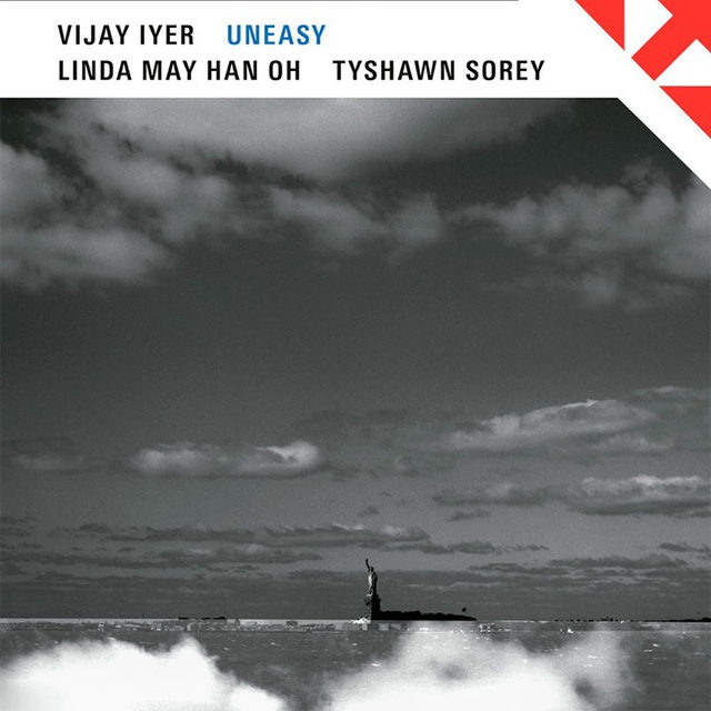 🏆 Best New Music: Even as they negotiate complex parameters of rhythm and harmony, @vijayiyer, Linda May Han Oh (@lmoh000), and Sorey's expertly attuned playing evokes the openness of improvisation and the urgency of justice. Read our review of Uneasy at the link in our bio.  #BestNewMusic #BNM #Pitchfork #AlbumReview #Jazz #JazzMusic