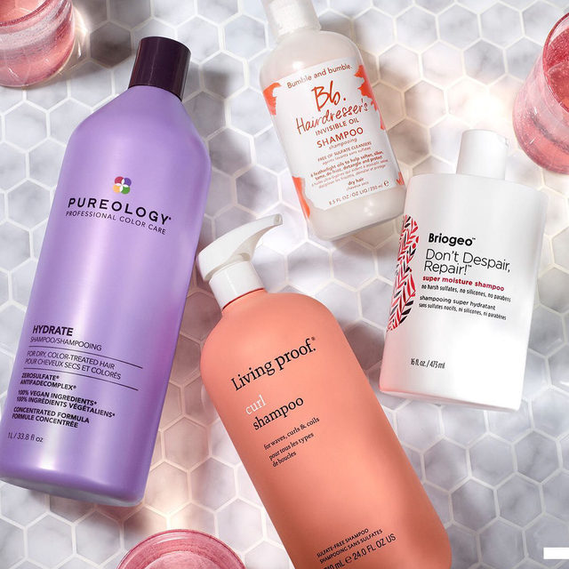 Imagine getting into the shower on wash day 🚿Your hair is all wet and ready to be lathered up…when you realize your shampoo bottle is empty 🙃Enter: your favorite shampoos upgraded to jumbo sizes, for more sudsing up and fewer sad wash days 💁🏿‍♀️💁🏻‍♂️💁🏽‍♀️  ✨ Our Spring Savings Event is on now ✨ Rouge, you get 20% off from 4/9 to 4/19. VIB, you get 15% off from 4/13 to 4/19. Insider, you get 10% off from 4/15 to 4/19. Unlimited use in store, online or buy online, pick up in store with code OMGSPRING! Exclusions apply .   Plus! Now through 4/19 get 30% off all Sephora Collection items. Not combinable with Springs Savings Event Offer. … @pureology Pureology Hydrate Shampoo  @bumbleandbumble  Bumble and bumble Hairdresser's Invisible Oil Shampoo  @briogeo Briogeo Don't Despair, Repair! Super Moisture Shampoo for Damaged Hair  @livingproofinc Living Proof Curl Shampoo