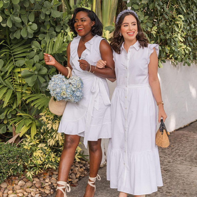 Wearing white before Memorial Day — yea or nay? (We say yay!)