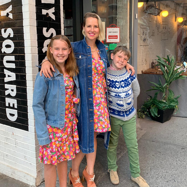 """""""Make sure your kids know the woman behind the 'Mommy' moniker,"""" DJ Head of Design @kathrynsukey says. """"Making yourself, your endeavors, and your self-care a priority from time to time is the best example you can set for them. You're teaching them so much about growth, independence, and sense of self-worth."""" #djlovesmoms"""