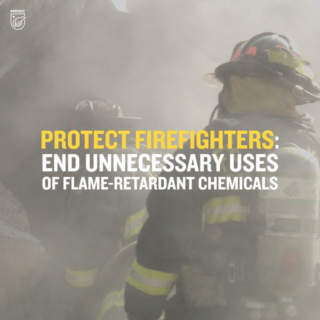Flame-retardant chemicals are associated with serious health effects, from cancer and reproductive harm to learning disabilities in children. Firefighters are calling for a phaseout because toxic retardants endanger their health and provide no meaningful fire safety benefit in many products.   Link in bio to learn more.