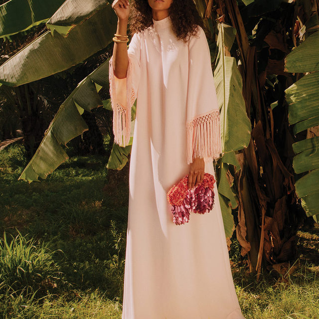 DRESS UP: Master the art of modest dressing and embrace demure designs that are sure to standout  Tap the link in bio to shop at #NETAPORTER