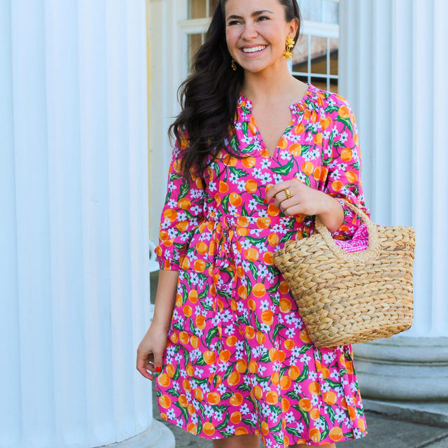 """""""Living in Buffalo, the winter can be very long so when the warm weather finally arrives, it's just the best feeling,"""" says @belleoftheball45 of living in Western New York. """"I live in dresses during the spring and summer. I wear a dress almost every day!"""" ✨🍊🌸"""