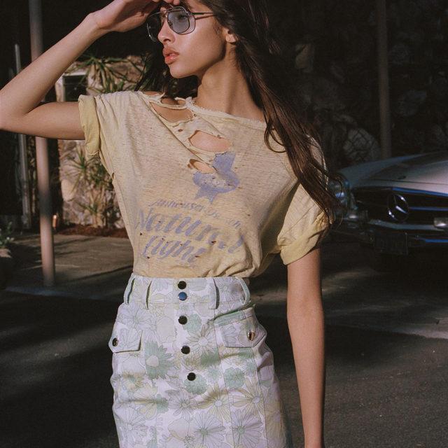 A California classic // The Peyton Mini Skirt