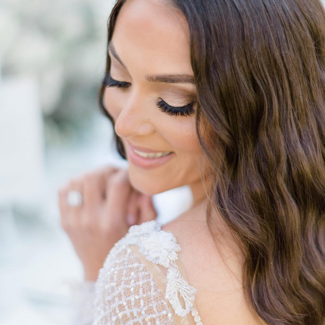 #MakeupMonday 💄・How stunning of these shots from @jenniferlamphoto of @sammisweethearts glam? 🤩 @senadakxo & @glamourbydrita did Sammi's glam for this shoot and we are obsessed! 👰・Her bridal glam looks perfect with our @galialahav Estelle dress! ❤️ P.S. if you want to see a tutorial on these waves, go to @senadakxo's page! 😘・You can also say YES to the #GaliaLahav Estelle dress at our #GLCouture & @gl__gala trunk show starting tomorrow through Sunday! For more info, you can click the link in our bio, send us a DM or even call our salon directly at 212-764-3040! 🥂 We have limited appointments but would be more than happy to assist you!  👰 Model: @sammisweetheart 👰 Wearing @galialahav from @bridalreflectionsny 📸 @jenniferlamphoto @69.views 💇‍♀️ @senadakxo 💄 @glamourbydrita 📔 @eventfuldays 🏰 @deseversky 📽️ @aj_ingoglia_films 💐 @pedestalsfloraldecorators 🍪 Cookies: @arenocalligraphycakes 🍰 Cake: @vincenzo_salvatore_cakes 👝 Custom Bridal Bags: @islandtoeastside 🍦 Dessert truck: @dolceandgelatocatering 1️⃣ Table #'