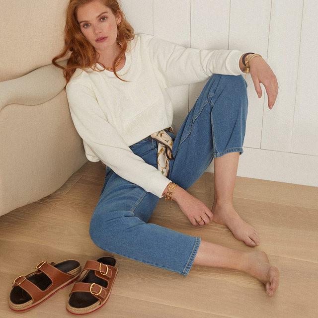 Relaxed silhouettes for warmer days. Discover the new collection online and #instore. #CHShoeLove