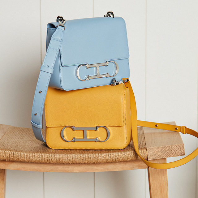 Collect them all. Rediscover the new colors of #CHInitialsInsignia #instore and online. #CHInsignia