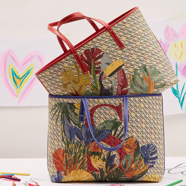 If you are looking for the perfect gift, make it personal. Choose #CHShoppingBag with your mother's initial and surprise her.