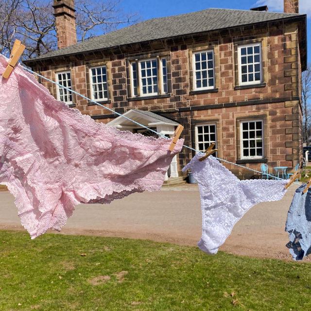 We recommend always hang drying your Hanky Panky undies 👙  (cc: @be.styleyourlife)