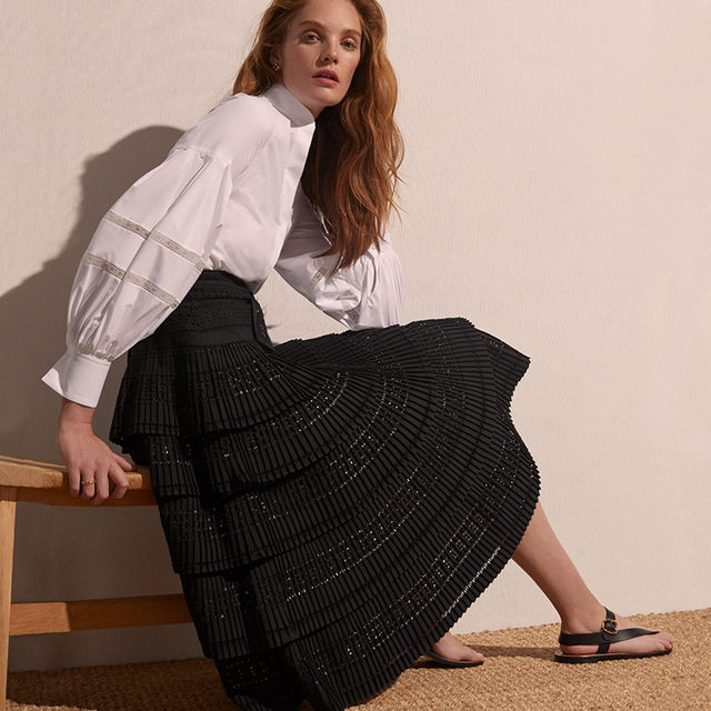 Nothing is black or white except Carolina's summer essentials available online and #instore.