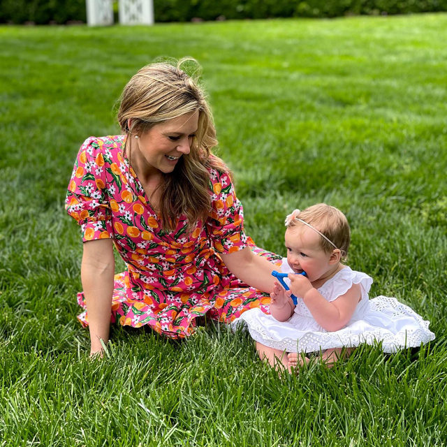 """""""Being a mom is so much better than I could have ever imagined. I love this girl so much it hurts,"""" says @elizabeth_oneill_mccall, the Assistant Master Distiller at @woodfordreserve, pictured here with her daughter. #djlovesmoms"""