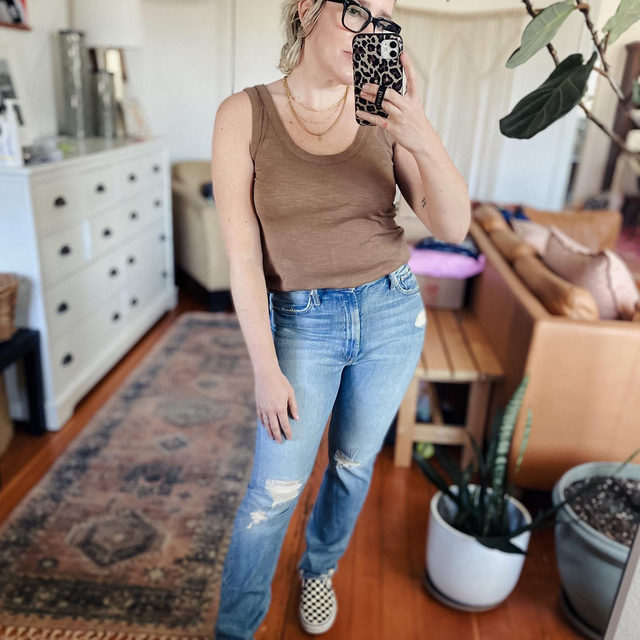 Friends...three fabulous pairs of MOTHER jeans I love are at least $50 off at @Saks right now with code STYLE21SF (in their buy more save more event...save up to $300!) LOVE these washes -- great for summer.   We all love Mother because they know how to design a fabulously flattering jean butt (swipe to see). I typically size up in their jeans, but they will relax a bit with wear. So cute!  xo, Laura @laurajansenstyle . Click the link in our bio to shop the sales. . . . . . #jeans #denim #saks #motherjeans #sale #fashionedit #stylegoals #ootd #dailyoutfit #themomedit #themomeditstyle