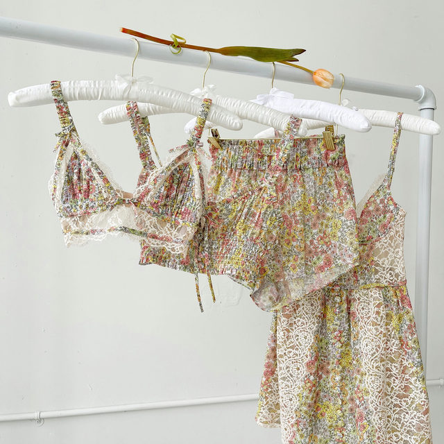Delicate florals atop lightweight cotton to be worn in and out as you please // The Esme styles