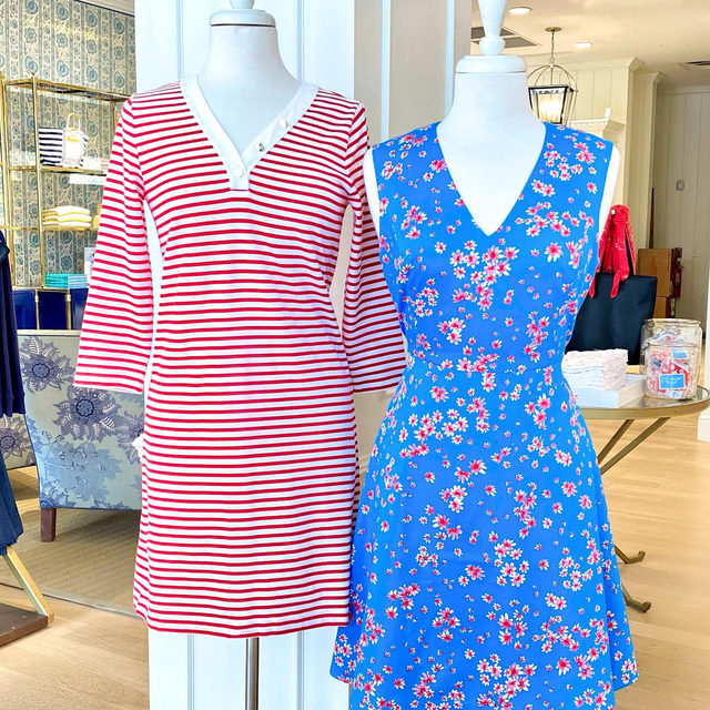 This or that? Sailor stripes ⚓️ or dainty florals 🌺?