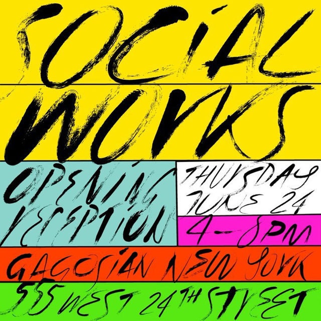 """#SocialWorks: Join us on Thursday, June 24, from 4pm to 8pm, for the opening reception of """"Social Works,"""" a group exhibition curated by Antwaun Sargent at 555 West 24th Street, New York. Participating artists include David Adjaye, Zalika Azim, Allana Clarke, Kenturah Davis, Theaster Gates, Linda Goode Bryant, Lauren Halsey, Titus Kaphar, Rick Lowe, Christie Neptune, Alexandria Smith, and Carrie Mae Weems.  This exhibition considers the artists' relationship to space—personal, public, institutional, and psychic. With a wide range of material and theoretical approaches, the work on view is united by a conscious engagement with today's cultural moment, in which numerous social factors have converged to produce a heightened urgency for Black artists to utilize space as a community-building tool and a means of empowerment. Follow the link in our bio to learn more about the exhibition. __________ #Gagosian #AntwaunSargent @sirsargent @adjaye_visual_sketchbook @adjayeassociates @26thletter @allanaclarkestudios @kent"""