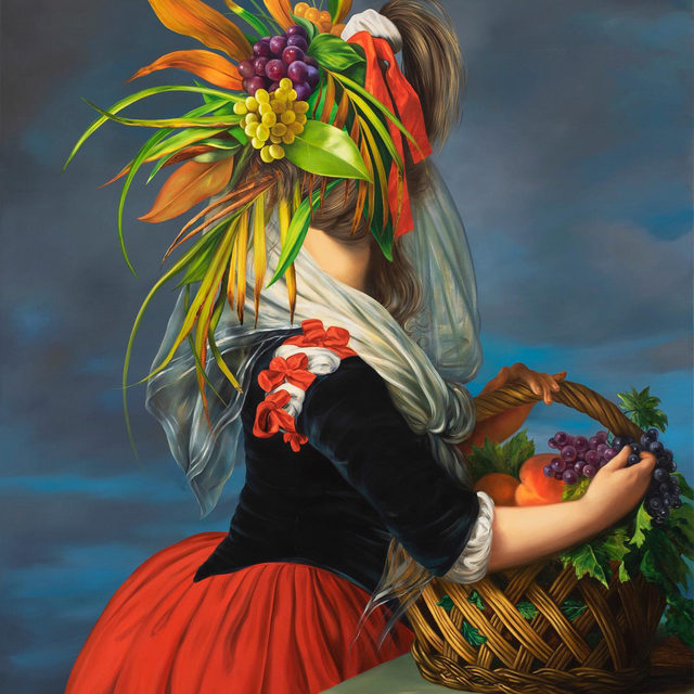 """""""Face à Arcimboldo"""" is currently on view at Centre Pompidou-Metz, France, through November 22. This exhibition, whose title translates to """"Arcimboldo Face to Face,"""" invites visitors to explore the timeless vocabulary of the sixteenth-century painter Giuseppe Arcimboldo (c. 1527–1593). The show demonstrates how his work has influenced art history for more than four centuries through the work of 130 artists.  Work by Ewa Juszkiewicz, Ed Ruscha, Francis Bacon, Glenn Brown, Alex Israel, Roy Lichtenstein, Man Ray, Pablo Picasso, and Auguste Rodin is featured. Follow the link in our bio for more. __________ #EwaJuszkiewicz #EdRuscha #Gagosian @ewa_juszkiewicz @edruschaofficial @centrepompidoumetz_ (1) Ewa Juszkiewicz, """"Untitled (After Elisabeth Vigée Le Brun),"""" 2020 © Ewa Juszkiewicz; (2) Ed Ruscha, """"Mood Doom,"""" 2019 (detail) © Ed Ruscha"""