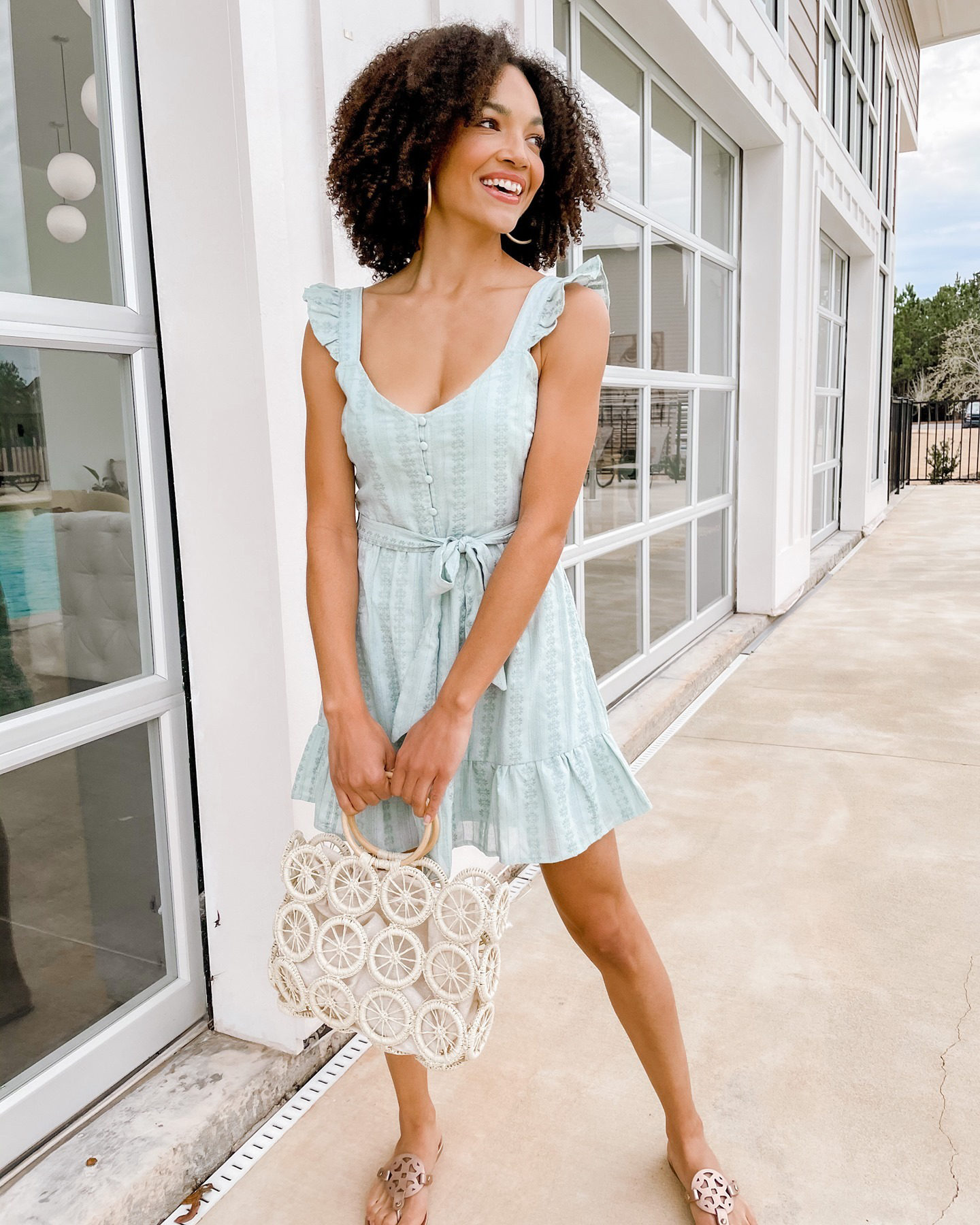 sleeveless casual summer dress
