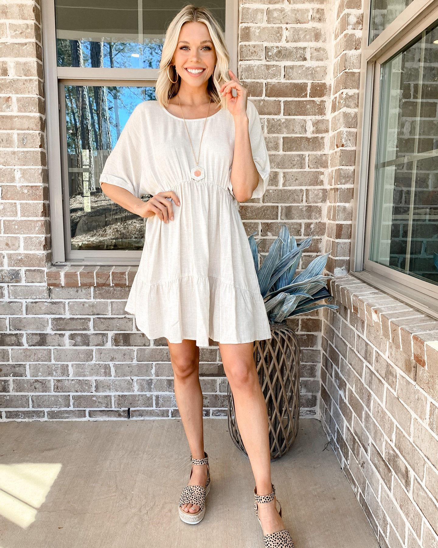keten yazlık elbise 2021