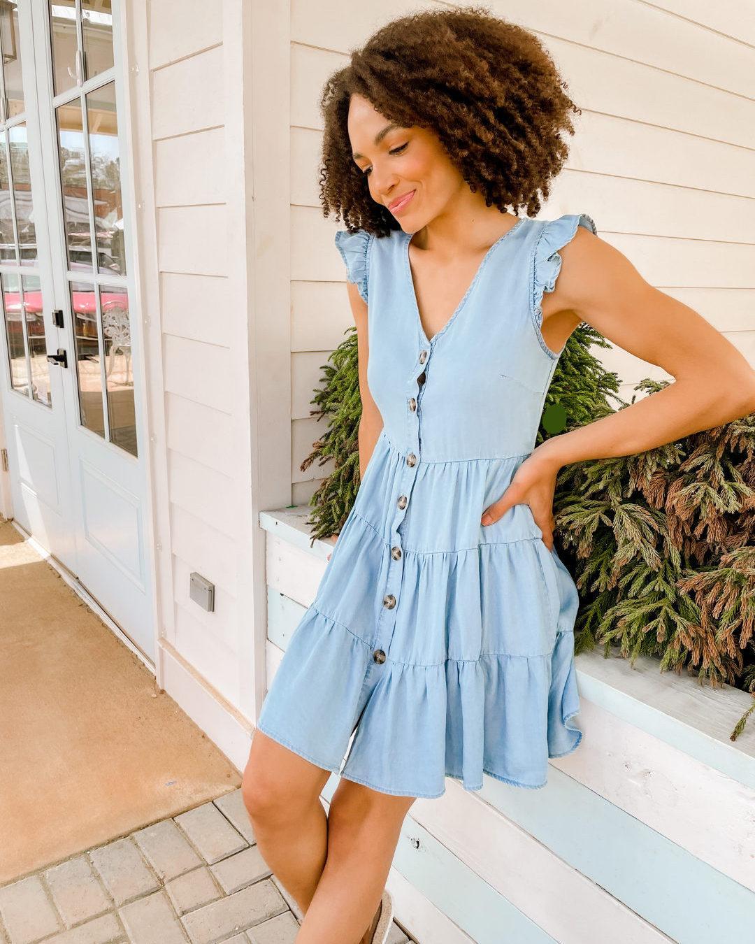 chambray 2021 yazlık elbiseler